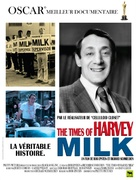 The Times of Harvey Milk - French Movie Poster (xs thumbnail)