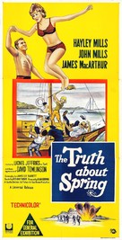 The Truth About Spring - Australian Movie Poster (xs thumbnail)