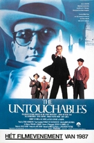 The Untouchables - Dutch Movie Poster (xs thumbnail)