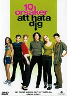 10 Things I Hate About You - Swedish Movie Cover (xs thumbnail)