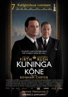 The King's Speech - Estonian Movie Poster (xs thumbnail)