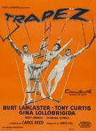 Trapeze - Danish Movie Poster (xs thumbnail)