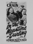 In the Meantime, Darling - Movie Poster (xs thumbnail)