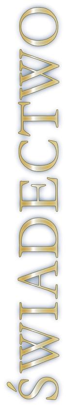 Swiadectwo - Polish Logo (xs thumbnail)