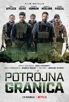 Triple Frontier - Polish Movie Poster (xs thumbnail)