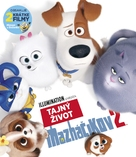 The Secret Life of Pets 2 - Slovak Blu-Ray movie cover (xs thumbnail)