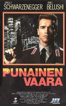 Red Heat - Finnish VHS movie cover (xs thumbnail)