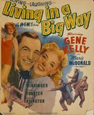 Living in a Big Way - Movie Poster (xs thumbnail)