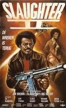 Slaughter's Big Rip-Off - Dutch VHS movie cover (xs thumbnail)