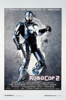RoboCop 2 - Italian Theatrical poster (xs thumbnail)
