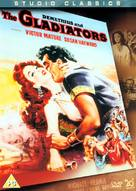Demetrius and the Gladiators - British DVD movie cover (xs thumbnail)