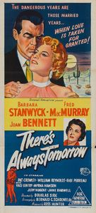 There's Always Tomorrow - Australian Movie Poster (xs thumbnail)