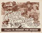 Don Daredevil Rides Again - Movie Poster (xs thumbnail)