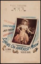 Shine on Harvest Moon - Movie Poster (xs thumbnail)