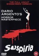 Suspiria - British DVD movie cover (xs thumbnail)
