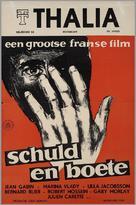 Crime et châtiment - Dutch Movie Poster (xs thumbnail)