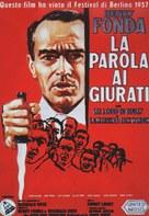 12 Angry Men - Italian Movie Poster (xs thumbnail)