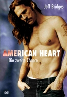 American Heart - German DVD movie cover (xs thumbnail)