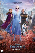 Frozen II - New Zealand Movie Poster (xs thumbnail)