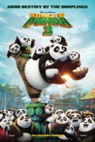 Kung Fu Panda 3 - British Movie Poster (xs thumbnail)