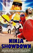 The Ninja Showdown - German VHS cover (xs thumbnail)