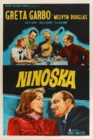 Ninotchka - Argentinian Movie Poster (xs thumbnail)