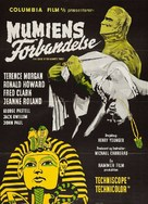 The Curse of the Mummy's Tomb - Danish Movie Poster (xs thumbnail)