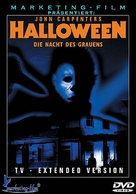 Halloween - German DVD movie cover (xs thumbnail)