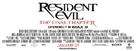 Resident Evil: The Final Chapter - Logo (xs thumbnail)