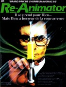 Re-Animator - French Movie Poster (xs thumbnail)