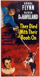 They Died with Their Boots On - Movie Poster (xs thumbnail)