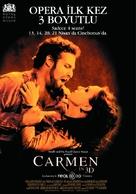 Carmen 3D - Turkish Movie Poster (xs thumbnail)
