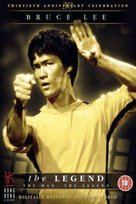 Bruce Lee, the Legend - British DVD cover (xs thumbnail)