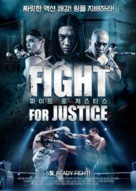 The Trigonal: Fight for Justice - South Korean Movie Cover (xs thumbnail)