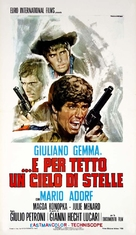 ...e per tetto un cielo di stelle - Italian Movie Poster (xs thumbnail)