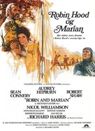 Robin and Marian - Danish Movie Poster (xs thumbnail)