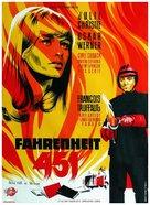 Fahrenheit 451 - Danish Movie Poster (xs thumbnail)