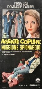 Coplan prend des risques - Italian Movie Poster (xs thumbnail)