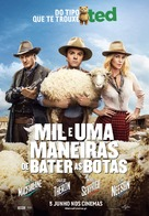 A Million Ways to Die in the West - Portuguese Movie Poster (xs thumbnail)