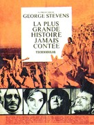 The Greatest Story Ever Told - French Movie Poster (xs thumbnail)