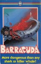 Barracuda - British VHS movie cover (xs thumbnail)