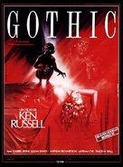 Gothic - Movie Poster (xs thumbnail)