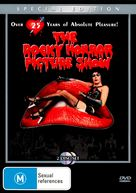 The Rocky Horror Picture Show - Australian DVD cover (xs thumbnail)