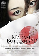 Madam Butterfly 3D - British Movie Poster (xs thumbnail)