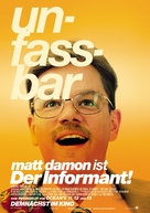 The Informant - German Movie Poster (xs thumbnail)