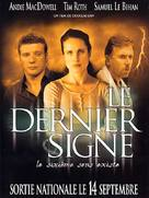 The Last Sign - French poster (xs thumbnail)