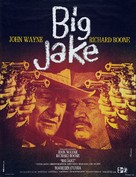 Big Jake - French Movie Poster (xs thumbnail)