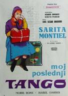 Mi último tango - Yugoslav Movie Poster (xs thumbnail)