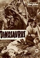 Dinosaurus! - German poster (xs thumbnail)