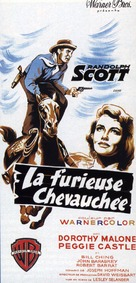 Tall Man Riding - French Movie Poster (xs thumbnail)